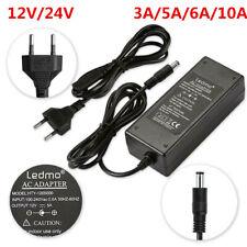 12V/24V 2/3/5/6/10A transformateur adaptateur d'alimentation Bande menée de LED