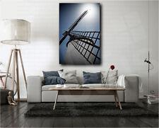 Windmill in Campo de Criptana Castilla Spain Art Canvas Poster Print Wall Decor