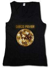 DISCO LIGHT II TANK TOP Retro Oldies Nerd Techno Club Mirror Ball Star