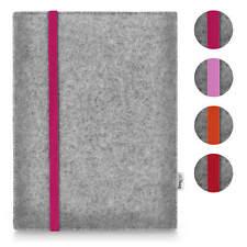 Tablet Tasche - Amazon Fire HD 10 - Filz Hülle Etui LEON hellgrau RED