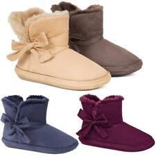 Signore Pantofole Con Stivali Da Donna Pantofole Inverno Termiche Caviglia Bootie Warm Scarpe Taglia