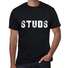 studs Homme T shirt Noir Cadeau D'anniversaire 00553
