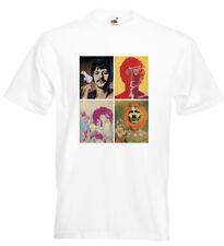 The Beatles Psychedelic T Shirt John Lennon Paul McCartney Ringo George Harrison