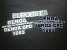 SPONSORS UFFICIALI GENOA HOME/AWAY 2007-2009 OFFICIAL SPONSORS