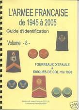 Volume 8 - Fourreaux d'épaule & Disques de Col mle 1990