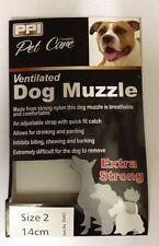 PPI Nylon Mesh Dog Muzzle Training Breathable Comfortable Adjustable - ALL SIZES