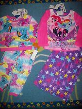 My Little Pony Pajamas Sleepwear 2pc Set 2Toddler Girls 4 Fleece NWT