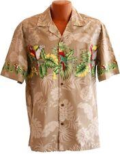 New Parrot Hawaiian Aloha Shirt