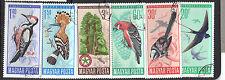 Hungary 1966 Birds CNH SC ## 1746 - 1751