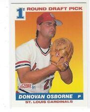 1991 SCORE BASEBALL REGULAR BASE SERIES SINGLES #'S 676-893