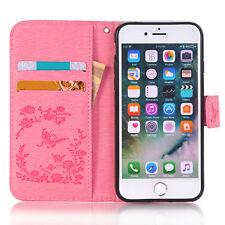 Original Apple iPhone 7 Plus /8 Plus, X Crystal Leather Soft Case Wallet - USA