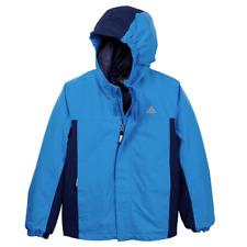 Veste manteau enfant chaude imperméable parka bleue AA2007