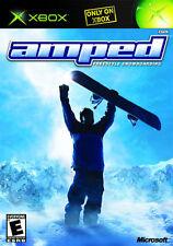 Amped: Freestyle Snowboarding (Microsoft Xbox, 2002) - European Version