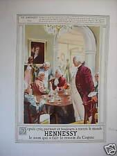 PUBLICITE SUR LE COGNAC HENNESSY