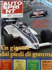 Autosprint 27 1981 Pagina Poster Talbot Ligier -Laffite