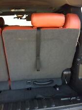 Cadillac Hummer Tahoe  third row seat (BLACK) pull straps