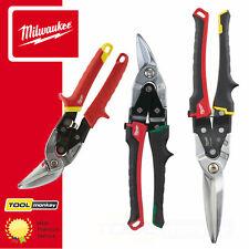 Milwaukee Aviation Metal Snips - Straight / Long / Left Cut / Right Cut