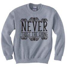 "Beetlejuice ""Never Trust The Living"" Sweatshirt"