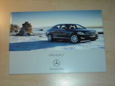 25447) Mercedes S-Klasse W221 Polen Prospekt 2005