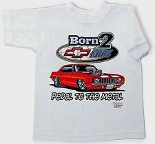 Toddler/Kids 2T Camaro T-Shirt Born 2 Cruz Pedal To The Metal Boys-Girls Fs New