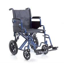 Sedia A Rotelle Da Transito Disabili Carrozzina Pieghevole Doppia Crociera CP115