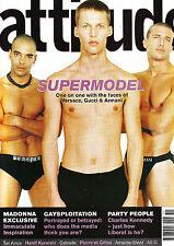 ATTITUDE Magazine #67 MALE SUPERMODELS Madonna PIERRE ET GILLES Tori Amos EXCLNT