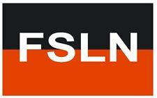SANDINISTA NATIONAL LIBERATION FRONT Vinyl International Flag DECAL Sticker F440
