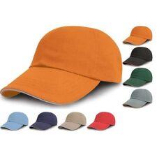 Adulto Unisex RESULTADO 100% Algodón Color impresión Bordadoras Gorra Béisbol