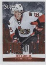 2013-14 Select Fire on Ice Stars FS-26 Erik Karlsson Ottawa Senators Hockey Card