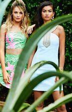 NWT $238 Lilly Pulitzer ADELINA Resort White Shift Dress