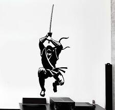 Vinyl Wall Decal Ninja Japanese Warrior Hitman Shadow Stickers (1321ig)