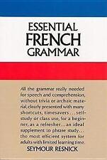 Essential French Grammar (Dover Language Guides Essential Grammar), Resnick, Sey