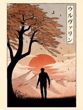 The Wolverine Japan Movie 2013 Japanese Cool Huge Giant Print POSTER Plakat