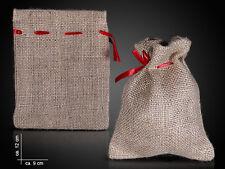 Aktion - Jutesack Jute-Beutel Geschenke Verpackung Jutesäckchen 3 Größen