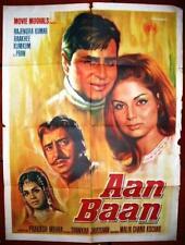 Aan Baan Original Movie Hindi Poster 70s
