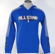Adidas All Star Royal Blue Basketball Pullover Hooded Sweatshirt Hoodie Mens NWT