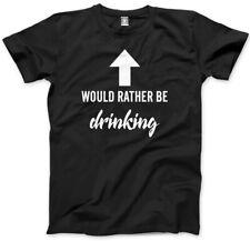 Preferirebbe Bere-Divertente Birra Ale Unisex Da Uomo T-shirt