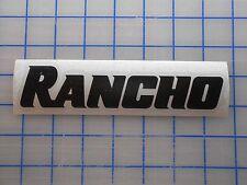 "Rancho Decal Sticker 5.5"" 7.5"" 11"" Lift Shocks Kit RS 5000 9000 Jeep Silverado"
