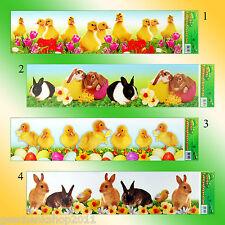 Fensterbild Ostern Folie Fenster Ostern Bild Frühling Dekoration Deko