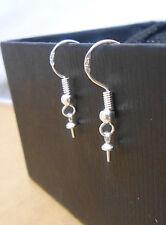 NEW 100-200PCS 925 Sterling Silver Jewelry Findings Earring Hook Ear wire earing