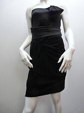 SPORTMAX BLACK EVENING COCKTAIL PARTY DRESS  UK 8   RET £535!!    BNWT  STUNNING