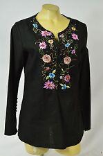 Sele top blouse corset bustier plade blue medium ruffle