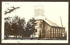 1915 Rp Pc Rppc Congregational Church Tabor Iowa Photo
