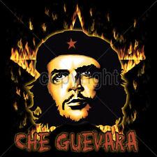 Che Guevara Revolution Burning Star Icon Hero Disobey Occupy T-Shirt Tee