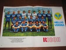 POSTER HELLAS VERONA 1987/88 ELKJAER FONTOLAN PACIONE
