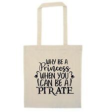 ? por qué princesa cuando se puede ser Be un barco pirata Bolso Tesoro Loro Mar 4643