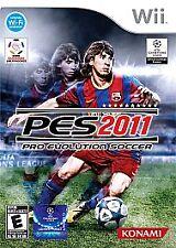 Pro Evolution Soccer 2011 (Nintendo Wii, 2010)