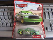 DISNEY PIXAR CARS CHICK HICKS ORIGINAL CARD