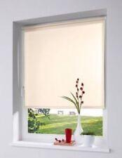 Klemmfix Rollo Luxury Licht & Sichtschutzrollo Klemmrollo wollweiß 45 - 100 cm