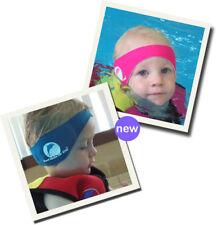 Konfidence Neopren Stirnband - Aquabands Ohrenschutz TM in pink